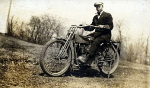 Early Harley Davidson single