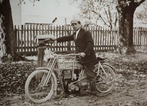 Harley Davidson delivering the mail 12 single