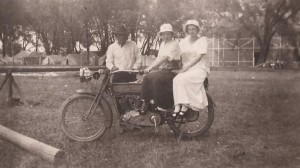 Ladies on a Harley 14