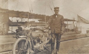 Sailor with his Harley 2 14