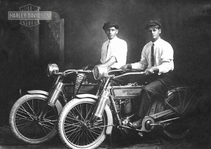 William S Harley and Authur Davidson c 1914